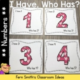 I Have Who Has Game St. Valentine's Day Numbers 1-25