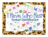 I Have, Who Has? Numbers! (3 Different Levels)