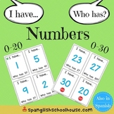 I Have, Who Has Numbers