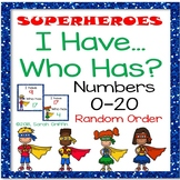 I Have, Who Has? ~ Numbers to 20 Game ~ Random Order