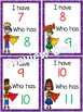 I Have, Who Has? ~ Numbers to 20 Game~ Superheroes