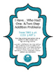 I Have...Who Has? One & Two Step Word Problems FREEBIE (3.4A, 3.NBT.2)