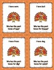 I Have, Who Has - Past Tense Verbs Thanksgiving Theme
