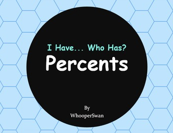 I Have, Who Has - Percents