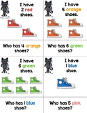 I Have, Who Has? Pete the Cat Colors