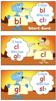 'PHONICS GAME': A Classic Phonics Game - I Have Who Has...?