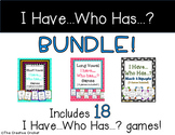 I Have Who Has Phonics Games BUNDLE