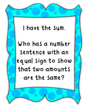 I Have, Who Has Place Value, Addition, and Subtraction