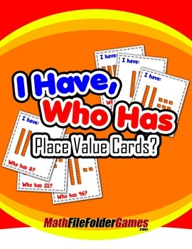 I Have, Who Has Place Value Cards {Place Value Game}
