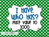 I Have, Who Has? Place Value