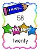 I Have Who Has Place Value Math Game and Math Center