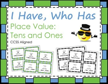 I Have, Who Has: Place Value - Tens