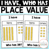 I Have-Who Has Activity Cards: Place Value (Tens & Ones)