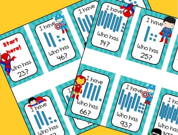 I Have... Who Has = Place Value Tens & Ones - CCSS Aligned