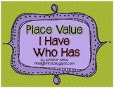 I Have, Who Has Place Value (Tens and Ones)