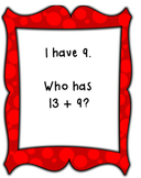 I Have, Who Has Plus 9-CCSS Aligned