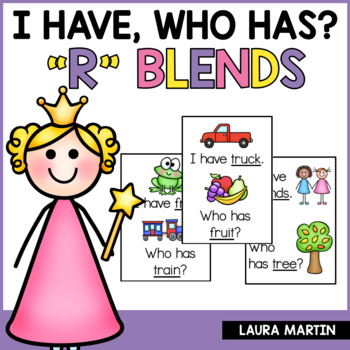 I Have, Who Has-R Blends