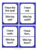 I Have, Who Has: R-Controlled Vowel /or/