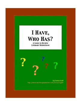 'I Have, Who Has?' Review