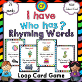 I Have Who Has - Rhyming Words - Loop Card Game