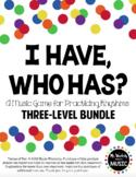 I Have, Who Has? Rhythm Game Bundle