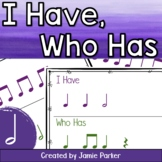 I Have, Who Has Rhythm Game: Half Note