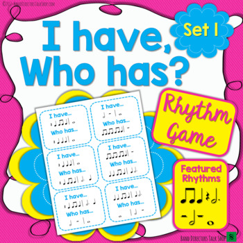 I Have, Who Has – Rhythm Game Set 1