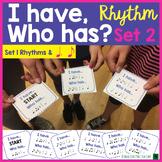 I Have Who Has Rhythm Music Game Set 2