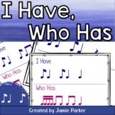 I Have, Who Has Rhythm Game: Ti Ta Ti (Syncopa / Syncopation)