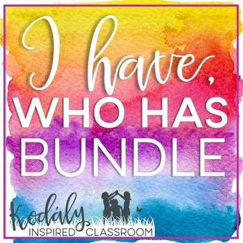 I Have / Who Has Rhythm and Melody Bundle