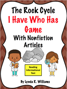 I Have Who Has Rock Cycle Game With Nonficiton Articles
