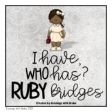 I Have Who Has Ruby Bridges Card Set
