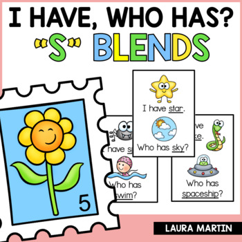 I Have, Who Has-S Blends