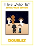 I Have Who Has - SPACE WARS - Adding DOUBLES - Math Folder Game