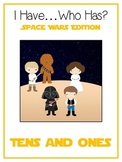 I Have Who Has SPACE WARS Math Folder Game TENS and ONES Place Value Common Core