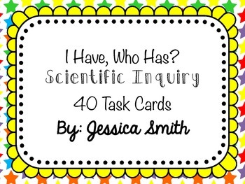 I Have, Who Has? Scientific Method