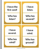 I Have, Who Has: Second Grade Treasures Unit 5 Phonics Skills
