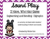 I Have, Who Has - Segmenting and Blending Digraphs Learning Set