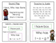 I Have, Who Has? - Segmenting and Blending Short O Words