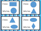 I Have, Who Has: Shapes (Basic and 3D)