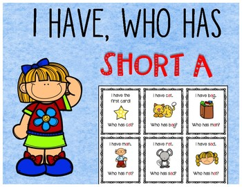 I Have Who Has? Short A