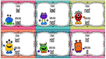 SRA Imagine It! 1st Grade I Have, Who Has (Short a, Short i, Short o)