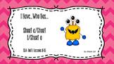 SRA Imagine It! 1st Grade I Have, Who Has (Short a, Short