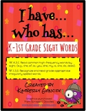 I Have, Who Has? Sight Word Activities