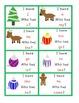 I Have... Who Has... ? Sight Word Activity (Christmas Themed)