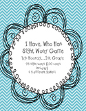 I Have, Who Has? Sight Word Game