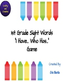 I Have... Who Has Sight Word Game