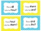 I Have! Who Has? Sight Word & Word Work Game - Grade 1 Bun