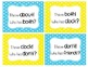 I Have! Who Has? Sight Word & Word Work Game - Grade 2 Bun