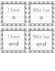 I Have, Who Has Sight Word Game (Pre-Primer)